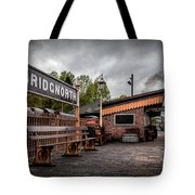 Bridgnorth Railway Station Tote Bag