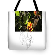 Bridled Honeyeater 2am-19465 Tote Bag