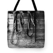Bridles Bw Tote Bag