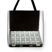 Briefcase Full Of Money Tote Bag