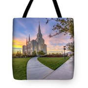 Brigham City Sunset Tote Bag