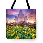 Brigham City Temple Tote Bag