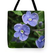 Bright And Blue Tote Bag