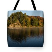 Bright And Sunny Autumn Reflections Tote Bag