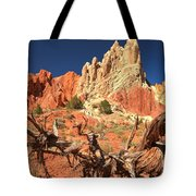 Bright And Twisted Tote Bag
