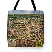 Bright Angel And El Tovar Hotel South Rim Tote Bag