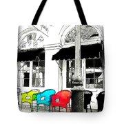 Bright Bistro Tote Bag