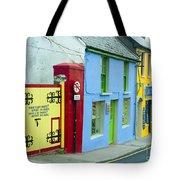 Bright Buildings In Ireland Tote Bag