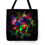 Bright Colors Of Paint Tote Bag