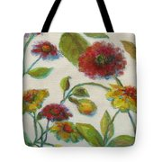 Bright Contemporary Floral  Tote Bag