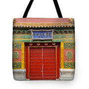 Bright Doorway Tote Bag