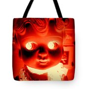 Bright Eyed Kewpie Tote Bag