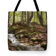 Bright Forest Creek Tote Bag
