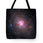 Bright Galaxy Centaurus A Tote Bag