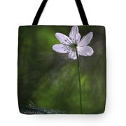 Bright Light Flower Tote Bag