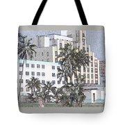 Bright Light Miami Beach Tote Bag