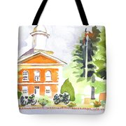 Bright Morning At The Courthouse Tote Bag
