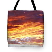 Bright Summer Sky Tote Bag