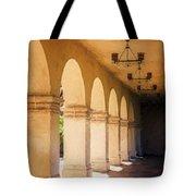 Bright Sun Cool Shade Balboa Park Tote Bag