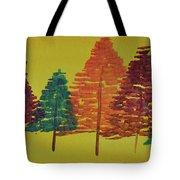 Bright Trees Tote Bag