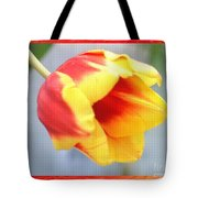 Bright Tulip Tote Bag