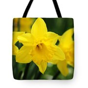 Cheerful Trumpets Tote Bag