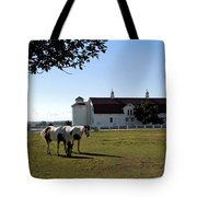 Brighton Barn And Horses Tote Bag