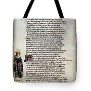 Brigit Of Kildare (d Tote Bag