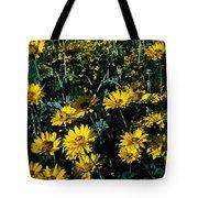 Brillant Flowers Full Of Sunshine. Tote Bag