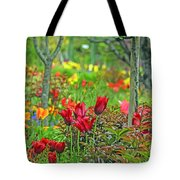 Brilliance Of Burgundy Tote Bag