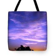 Brilliant Blue Sunrise Tote Bag