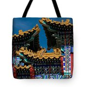 Brilliant Blues Tote Bag