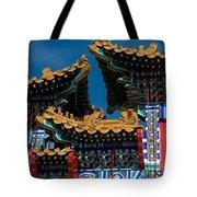 Brilliant Blues Tote Bag