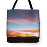 Brilliant Evening Colors Hang Tote Bag