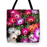 Brilliant Flowers Tote Bag