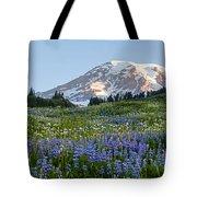 Brilliant Meadow Tote Bag by Mike Reid