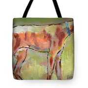 Brindle Greyhound Tote Bag by Carol Jo Smidt