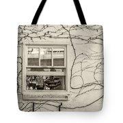 Bring On Spring Sepia Tote Bag