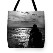 Bringing In The Nets Tote Bag