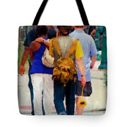Bringing The Sunflower Home Tote Bag