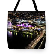 Brisbane South Bank From The 32nd Floor Tote Bag