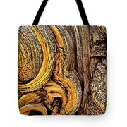 Bristlecone Pine Bark Detail White Mountains Ca Tote Bag