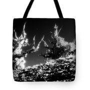 Bristlecone Twins In Infrared Tote Bag