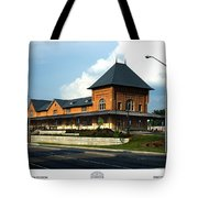 Bristol Train Station Bristol Virginia Tote Bag
