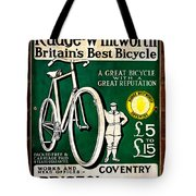 Britains Best Bicycle Tote Bag
