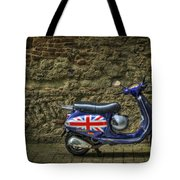 British At Heart Tote Bag by Evelina Kremsdorf