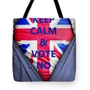 British Businessman Votes No Tote Bag