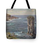 British Coastal View. Coast Of Cornwall Tote Bag
