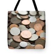 British Coins Sterling Full Frame Tote Bag