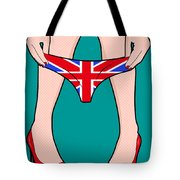 British Girl   Tote Bag